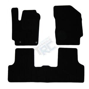 3 tapis sol moquette noir specifique peugeot partner 2003 2008 zenith totem raid ebay. Black Bedroom Furniture Sets. Home Design Ideas