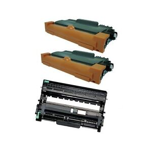 2 TN450 Toner + 1 DR420 drum for Brother HL-2240 HL-2270DW HL-2280DW MFC-7360N