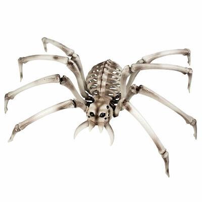 Deko Spinne Skelett 82 x 48 cm, Halloweenparty Dekoration Dekospinne Knochen (Halloween Spinne Dekorationen)