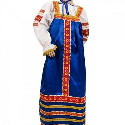 Russian Folk Costume Dress and Blouse Girls (5-6 yrs) Ethnic Traditional Dress - Traditional Russian Costume
