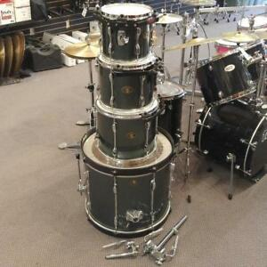 Tama Rockstar Gris Shell Kit Drum 10-12-14-22 - usagé-used