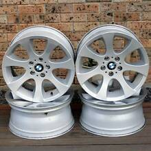 """Genuine 18"""" BMW Style 162 Staggered Sports Rims - RRP $3000 !! Penrith Penrith Area Preview"""