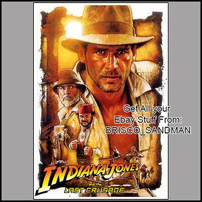 Fridge Fun Refrigerator Magnet Indiana Jones  Movie Poster E  Harrison Ford