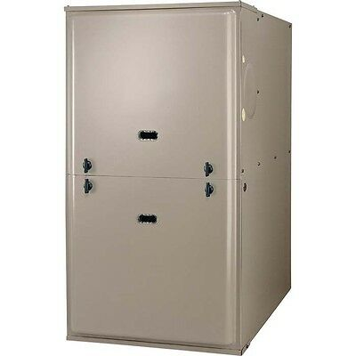 40000 Btu Natural Gas Propane Furnace Heater - Multi Position 120 Volt Blower
