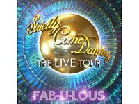 Amazing Strictly Live Tickets - Face Value - 3rd Row lower tier - Birmingham Arena - 21 Jan 18