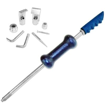 Dent Puller Slide Hammer Kit 9pc 5lb Auto Body Repair Tool Sliding Work -