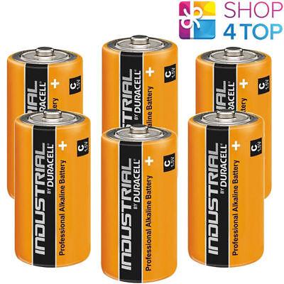 6 DURACELL C ALKALINE LR14 BATTERIEN 1.5V INDUSTRIE BABY R14 MN1400 AM2 E93 NEU Industrie Alkaline-batterien