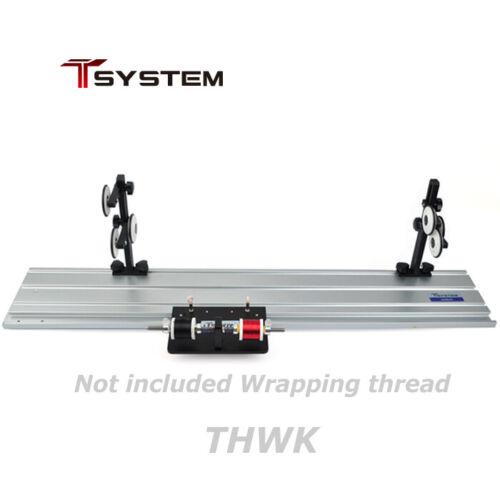 Jadrak T-SYSTEM Rod Hand Wrapper (THWK) for Fishing Rod Building Repair Tools