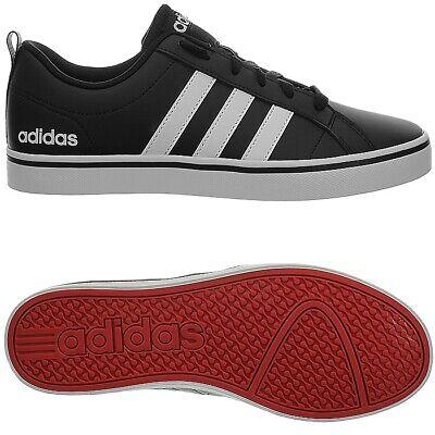 Adidas VS Pace schwarz weiss Herren Skateboard Sneaker Turnschuhe Freizeit NEU