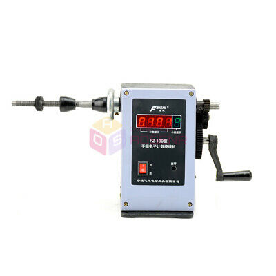 Electronic Digital Display Manual Hand Winder Coiler Lcd Coil Winding Machine