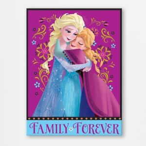 'Disney Frozen Family Forever' Graphic Art Print on Canvas