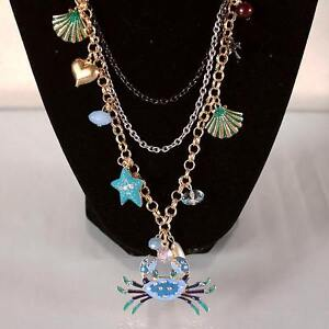 BRAND NEW Betsey Johnson Layered Necklace + Parrot Earrings Kitchener / Waterloo Kitchener Area image 5