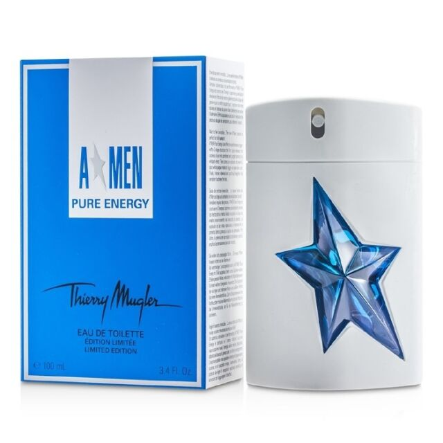 Thierry Mugler A*Men Pure Energy EDT Spray (Limited Edition) 100ml Mens  Perfume