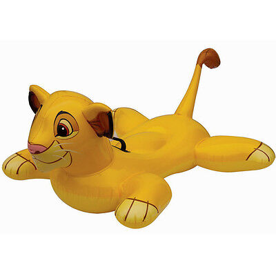 INTEX DISNEY LION KING RIDE ON LILO POOL FLOAT INFLATABLE SWIMMING SUMMER TOY