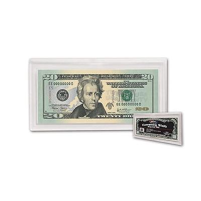 1 BCW Currency Slab Dollar Bill Case Regular Banknote Size Archival