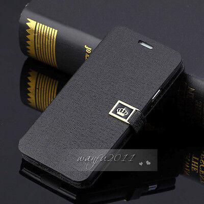 NEW Luxury Flip PU Leather Wallet Case Cover For Samsung Galaxy S5 I9600 on Rummage