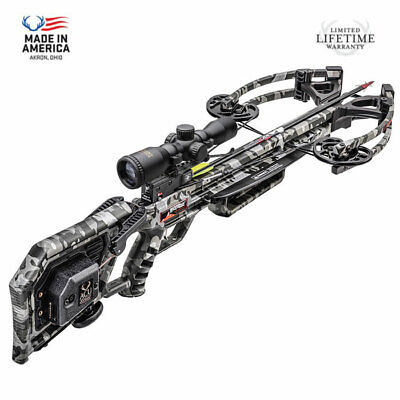 Wicked Ridge M-370 ACUDraw Crossbow Pkg. with FREE Scope Upgrade! NEW for 2020!