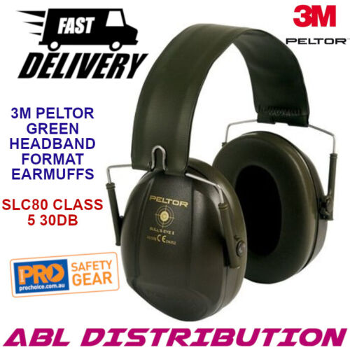 NEW UniSafe RB44CA 29dB CL5 General Purpose Cap Attach Earmuff