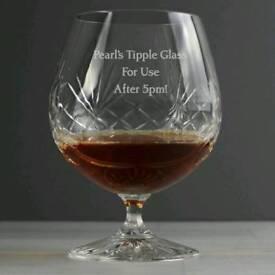 Crystal brandy Glass