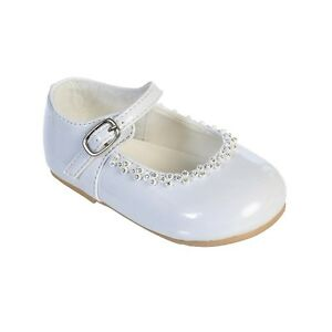 clear rhinestone infant toddler baby dress shoes
