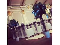 Wedding and event decoration from Lily Special Events - chair covers, centrepieces, post box etc