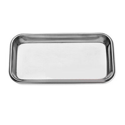 Portable Stainless Steel Medical Surgical Tray Dental Dish Lab Instrument Tools