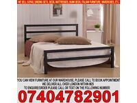 BRAND NEW Single/Double CIty Block Metal Bed Frame with Mattress of choice