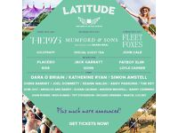 2x Latitude Festival Weekend Adult Camping Tickets for Sale