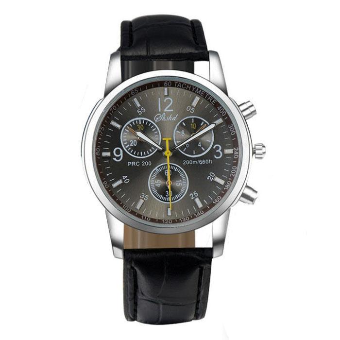 2018 Men's Fashion Luxury Watch Stainless Steel Sport Analog Quartz Wristwatches