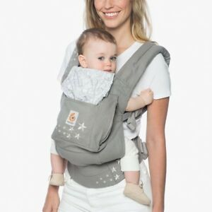 Ergo carrier with backpack and fleece ergobaby porte enfant