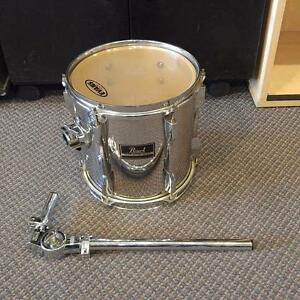 Pearl Export tom 10po fini miroir, avec holder - usagé/used