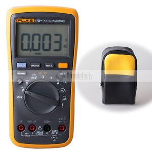 Fluke 17B+ Auto Range Multimeter with Soft case bag
