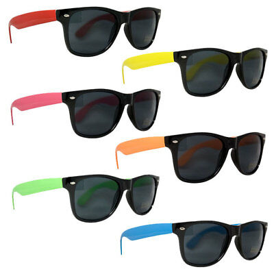 108pk Neon KIDS Party Sunglasses 80s Theme Favors Graduation Props Supplies - Kids Sunglasses Party Favors