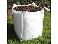 MULCH / BARK CHIPPINGS - bulk bags & tipper loads