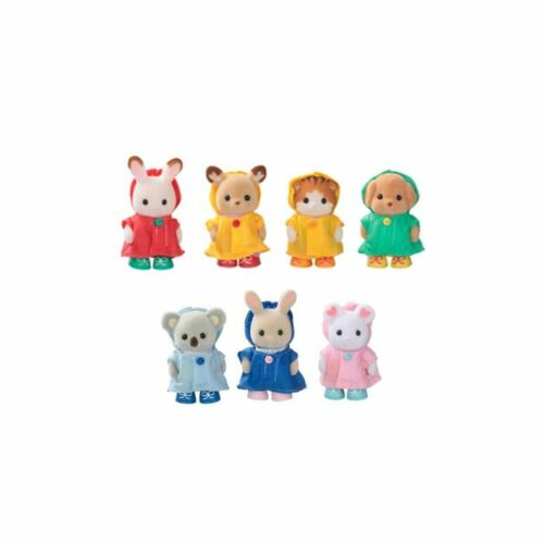 Sylvanian Families Baby excited raincoat Limited Japanese Import NEW