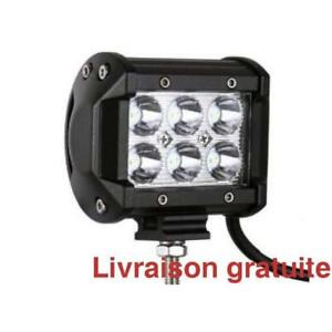 Barre de lumiere 18 Watts / Led light bar 4 inch