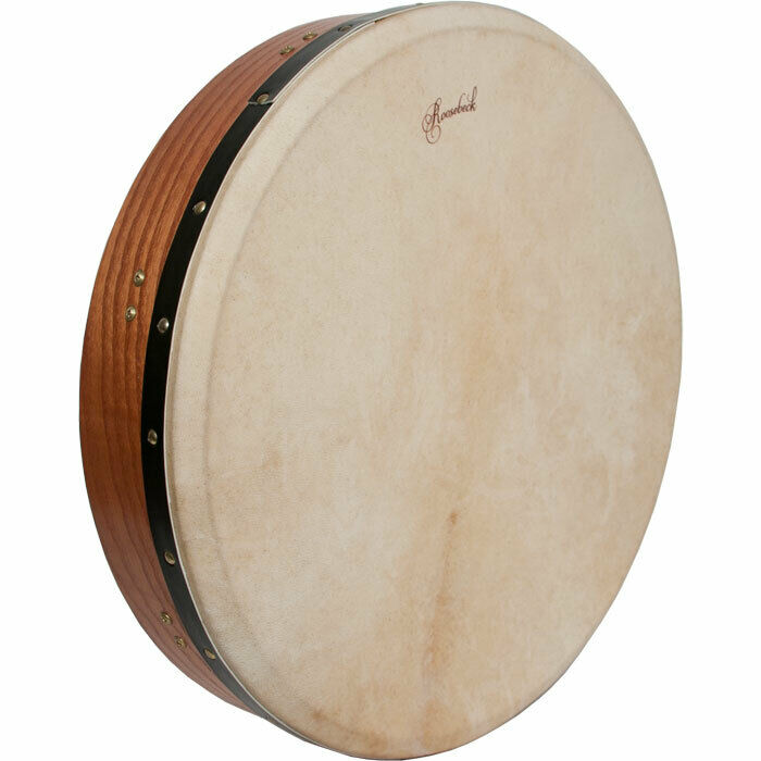 Tunable Red Cedar Bodhran Cross-Bar Double-Layer Natural Head 18-by-3.5-Inch