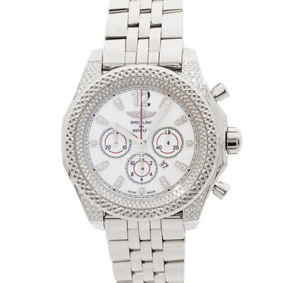 Breitling Bentley Barnato Limited Edition Steel Auto 42mm Mens A41390AP/A754