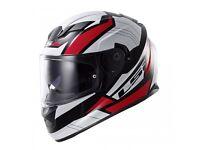 LS2 STREAM FF320 OMEGA Motorcycle Helmet