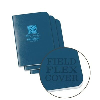 Rite In The Rain 271fx-m All-weather Universal Stapled Notebooks Blue