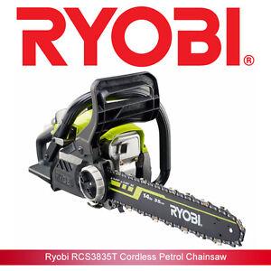 Ryobi RCS3835T Petrol Chainsaw With 35cm Bar and 37.2cc Engine