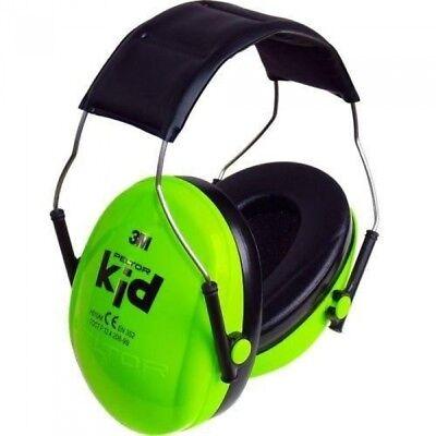 Peltor Kid 3M Kapselgehörschutz für Kinder, SNR=27dB Gehörschutz grün