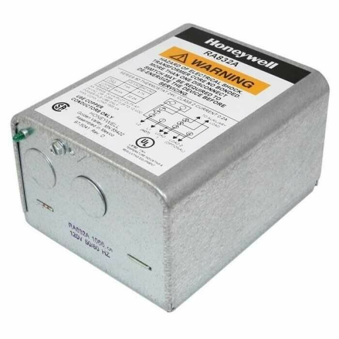 Honeywell RA832A1066 Hydronic Switching Relay 2 Wire, 24 Volt 60 Hz Low Voltage