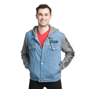 Marvel avengers denim vest jacket