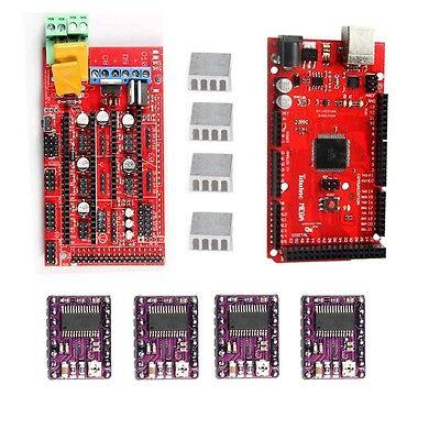 4 with arduino mega2560 & drv8825 stepper driver for prusa