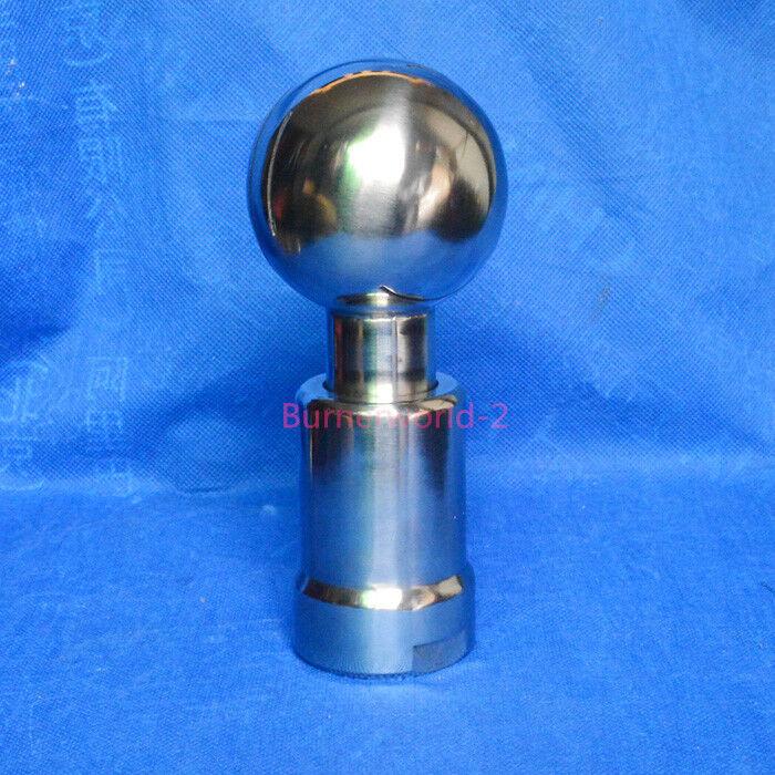 "1/2"" Rotating Tank Cleaning CIP Nozzle,Thread Rotary Nozzle Rotary Spray Ball"