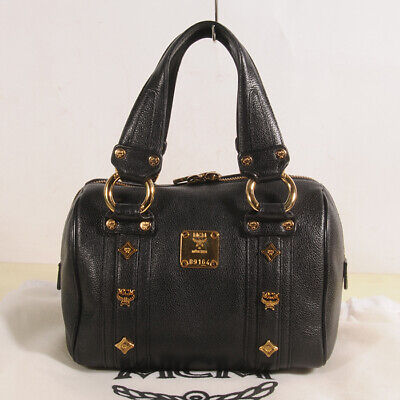 MCM Small Leather Tote Bag Authentic + Dust Bag