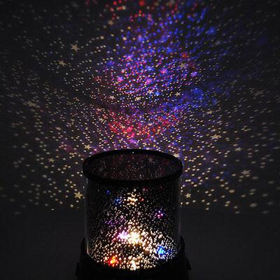 Color Twilight Stars Star Master Beauty Projector Night Light Lamp - Sleep Help
