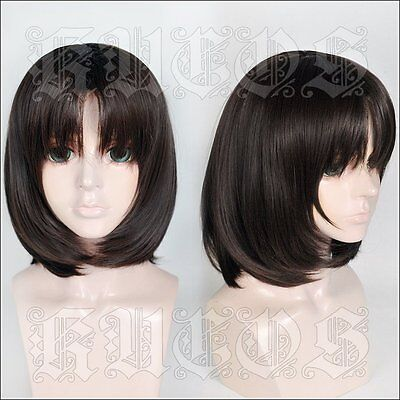 Halloween Wig Cosplay The Maid dragon of kobayashi-san Dark Brown Hair fashion - Halloween Maid Hair