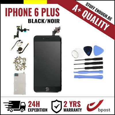 A+ LCD TOUCH SCREEN/SCHERM/ÉCRAN ASSEMBLY BLACK NOIR + TOOLS FOR IPHONE 6 PLUS